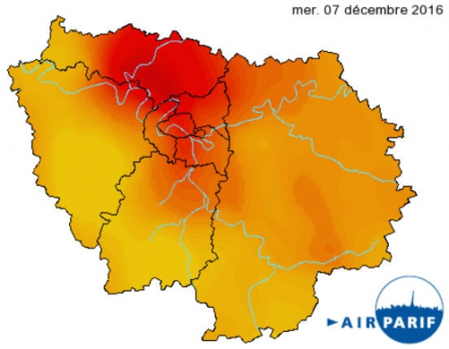 Carte Airparif 7 Dec 2016.jpg